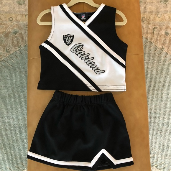 Oakland Raiders Cheerleader Outfit 7aa398ab5